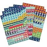 Boxclever Press Großpackung Scrapbook Sticker, Planersticker. 1.152 Kalender Sticker. Selbstklebende, farbenfrohe Bullet Journal Sticker für Pläne, Erinnerungen, Ereignisse & Haushalt