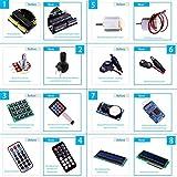 set / kit für arduino - elegoo uno projekt das vollständige ultimate starter kit mit deutsch tutorial, uno r3 mikrocontroller und viel zubehör für arduino uno r3 - 61iZF3LFpzL - Set / Kit für Arduino – Elegoo UNO Projekt Das Vollständige Ultimate Starter Kit mit Deutsch Tutorial, Uno R3 Mikrocontroller und viel Zubehör für Arduino UNO R3