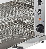 Lacor 69173doppia griglia con Horizontal/elettrico barbecue 3000