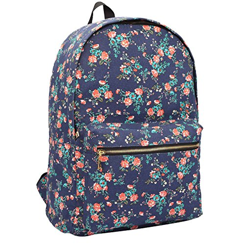 64e0973d2f03 15 COLOURS Canvas Backpack Rucksack - Girls Ladies Womens Casual Daypack  Bags - 20 Litre Medium