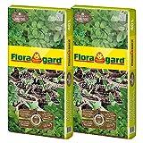 """Floragard 2 x Bio Kr""""uter- und Aussaaterde ohne Torf 40"""