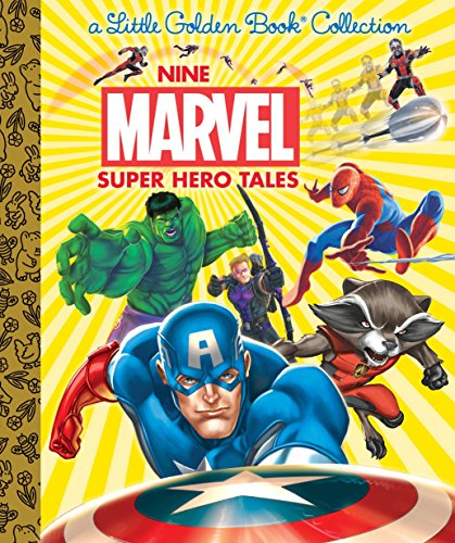 Nine Marvel Super Hero Tales (Marvel) (Little Golden Book Collection) por Various