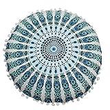 Runden Mandala Schutzhülle, Lenfesh Bohemien Kissen Zuhause Dekoration (G)