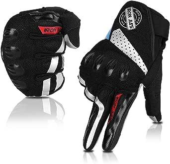 Motorrad Handschuhe Volle Finger Atmungsaktiv Touchscreen Handschuhe Für Den Sommer Bekleidung