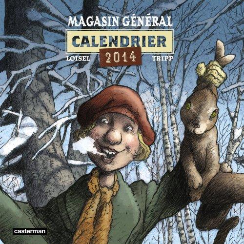 Calendrier Magasin Général 2014