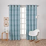 Exclusive Home Curtains Scrollwork Gated Print Sateen Woven - Best Reviews Guide