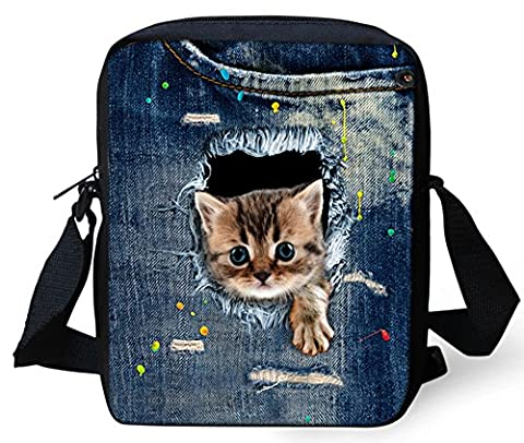 Nouveau Femmes Sacs Messenger FOR U DESIGNS 3D Animal Impression