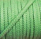 5 m Baumwollkordel 5 mm hellgrün