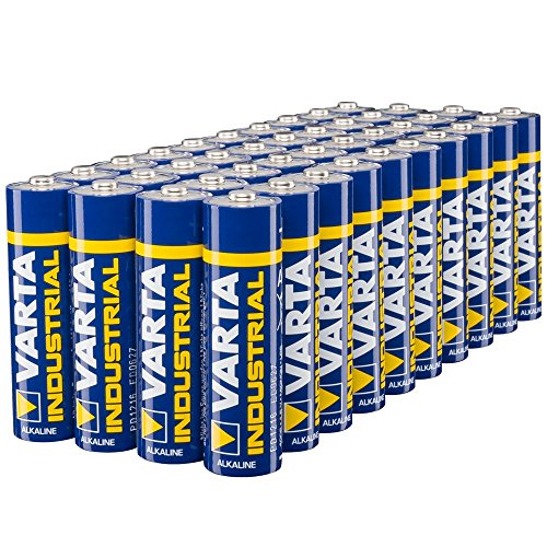 Varta Industrial Batterie AA Mignon Alkaline Batterien LR6 - 40er pack, Made in Germany
