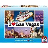 Schmidt Spiele 59285 - I love Las Vegas, 1000 Teile Puzzle