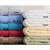 The Bettersleep Company Chortex Hampton 10 piece 100% Cotton Towel Bale (Meadow)
