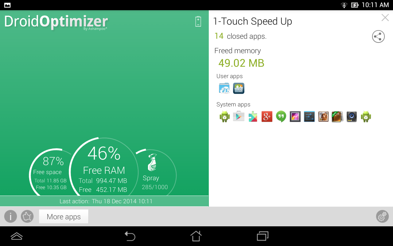 Droid Optimizer Amazon Co Uk Appstore For Android