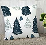 The Purple Tree Merry Christmas Cushion Cover (16x16 inches) 1 pc , christmas cushion covers , christmas decorations, christmas gifts , christmas décor STFC00367