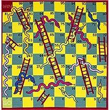 Flair Rugs Matrix Kiddy serpiente y escalera alfombra, Multi, 133x 133cm por Flair rugs