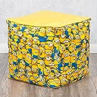 Hocker MINIONS 40x40cm gelb Kinderhocker Sitzwürfel Kinderzimmer preisvergleich bei kinderzimmerdekopreise.eu
