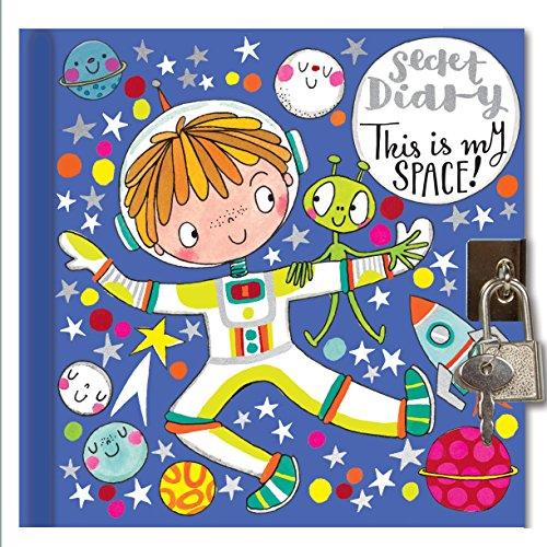 Journal intime–Spaceman–verrouillable Journal intime pour garçons