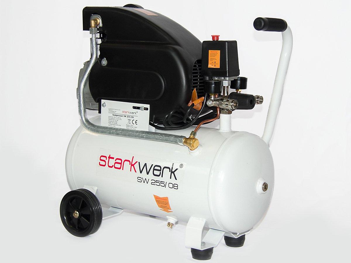 Starkwerk Druckluft Kompressor SW 255/08