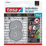 TESA 77909-00001-00 Tornillo adhesivo redondo para ladrillo y piedra 10 kg, Set de 2 Piezas