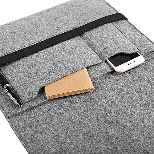 61iaSMMBugL - [Amazon.de] EasyAcc 13.3 Zoll Filz Hülle für MacBook für nur 10.99€