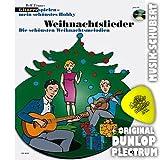 Gitarre spielen mein schönstes Hobby WEIHNACHTSLIEDER (+CD) inkl. Plektrum - Die schönsten Weihnachtsmelodien für 1-3 Gitarren arrangiert (Taschenbuch) von Rolf Tönnes (Noten/Sheetmusic)