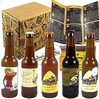 Cet assortiment vous fait découvrir les 5 bières sélectionnées par nos deux biérologues de la Brasserie Berroise. Les bières sélectionnées sont : 1 blanches brassée avec de l'écorce d'orange et de la coriandre, 1 blanche de blé traditionnelle, 1 blon...