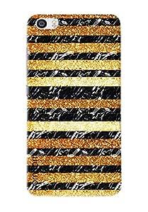 Omnam Tiger Printed Stripes Pattern Printed Designer Back Cover Case For Xiaomi Mi5