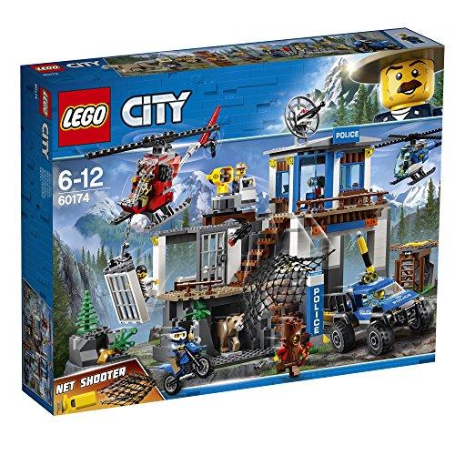 Lego Sa (FR) 60174 City - Jeu de construction - Le poste de police de montagne