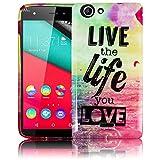 Wiko Pulp 3G / 4G 5.0 Zoll LIVE THE LIFE Silikon
