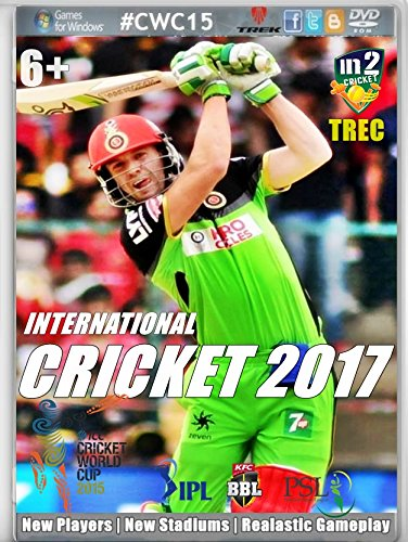 TREK INTERNATIONAL CRICKET 2017 PC GAME (WIN XP,WIN 7, WIN 10)