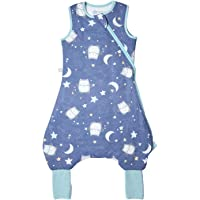 Tommee Tippee The Original Grobag Steppee Baby, Romper Suit, 6-18 months, 1 Tog, Ollie the Owl