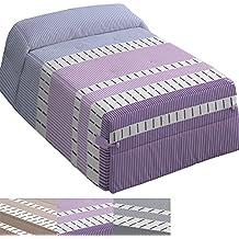 Edredón Modelo Alena, Color Malva, Medida Cama de 150 – 250x270cm