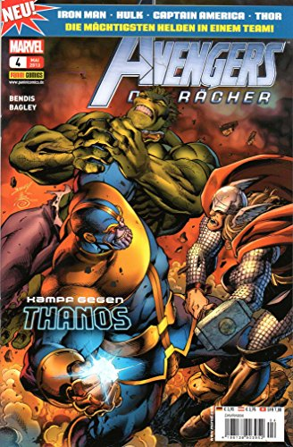 DISNEY MARVEL AVENGERS - Die Rächer (Iron Man, Hulk, Captain America, Thor) Comic # 4 -