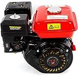 Motor de gasolina de 7,5 CV/4 tiempos, motor de kart, refrigerado por aire, alimentación por gravedad, motor industrial, 5,1