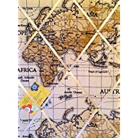 Medio 40x 30Fryetts Atlas Mappa del mondo