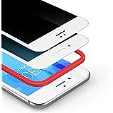 BANNIO för pansarglas siktskydd för iPhone SE 2020/iPhone 8, 2 st. 3D Full Screen Privacy pansarglasfolie skyddsfolie, glas s