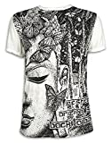 SURE Vintage Herren T-Shirt Buddhsimus Buddha Goa Nepal Tibet Psychedelic Trance L