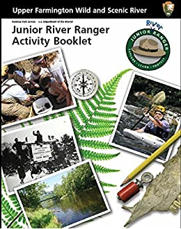 Upper Farmington Wild And Scenic River: Junior River Ranger Activity Booklet por U.s. National Park Service