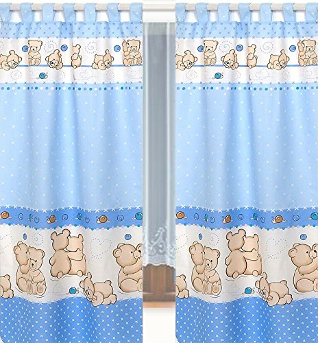 Tab top tende & bracciali per bambino nursery cameretta dei bambini