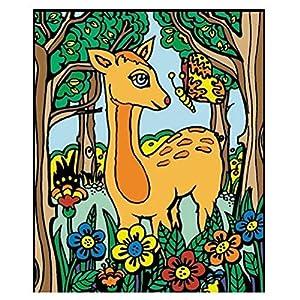 Colorvelvet 37x 28cm Bambi Sistema de Dibujo para Colorear (tamaño Mediano