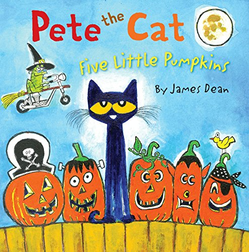 Pete the Cat: Five Little Pumpkins (English Edition)