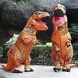 Aufblasbare Dinosaurier T-Rex Kostüm – Adult eine Größe Kostüm Halloween Outfit – mit Batterie betriebenen Ventilator - 3