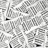 Disidry 100 x 2 gramos - BOLSITAS DESECANTES DE GEL DE SÍLICE EN TYVEK - Deshumidificador, regenerable - SILICA GEL