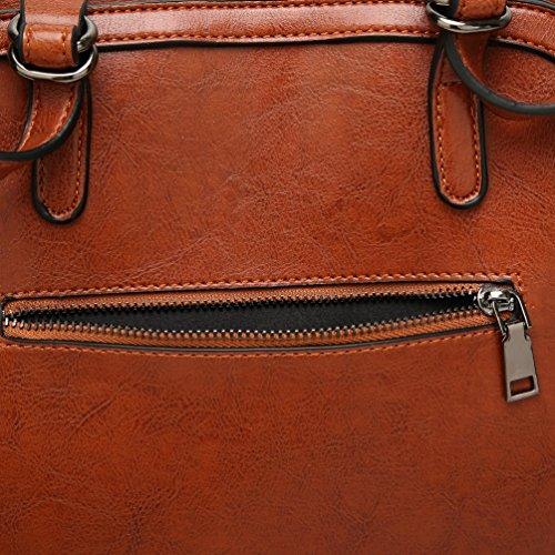 YiLianDa Elegant Damen Handtasche Schule Shopper Damen Handtaschen als Bild(6)