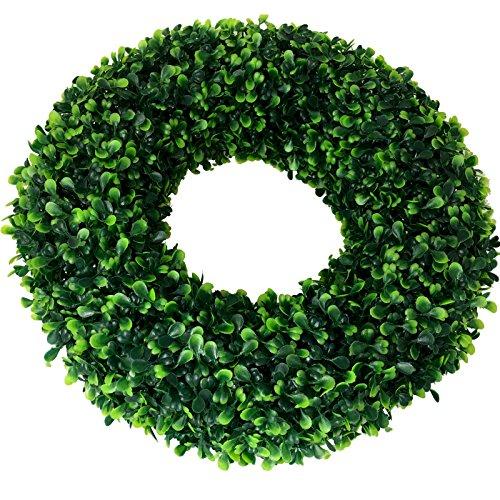 ∅ 40 cm künstlicher Kranz Buchsbaum (CLASSIC) Türkranz Tischkranz