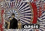 Poster formato A4 della rock band Oasis