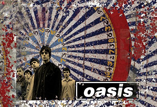 Oasis A4 Poster Print, Low Cost and Fast Despatch