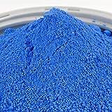 @tec Farbpigmente für Beton, Gips, Putz - Pigmentpulver, Eisenoxid, Oxidfarbe, Trockenfarbe - 1kg - Farbe: blau