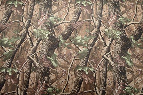 Camouflage woodland Gewebe in starkem wasserdichtem PVC-Material. Verkauft durch das Blatt 148cm x 100cm -