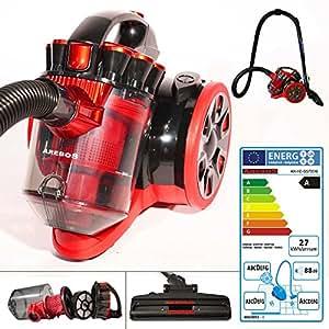 arebos aspirateur sans sac aspirateur cyclonique classe a. Black Bedroom Furniture Sets. Home Design Ideas