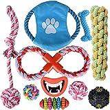 10Pcs Juguetes Para Perros Juguetes Mascotas Mordedores Pelotas para Perros Juguetes para Cachorros Perros Pequeños y Medianos